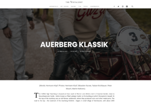 Auerberg Klassik on THE VINTAGENT
